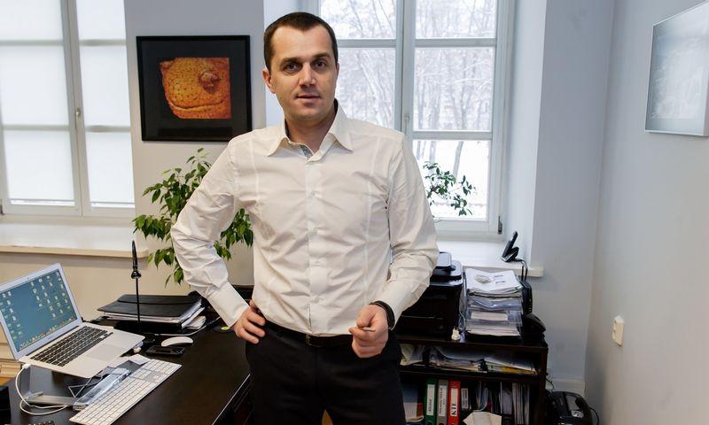 """Arūnas Armalis, ryšių su visuomene agentūros """"Opinio"""" vadovas.  Vladimiro Ivanovo (VŽ) nuotr."""