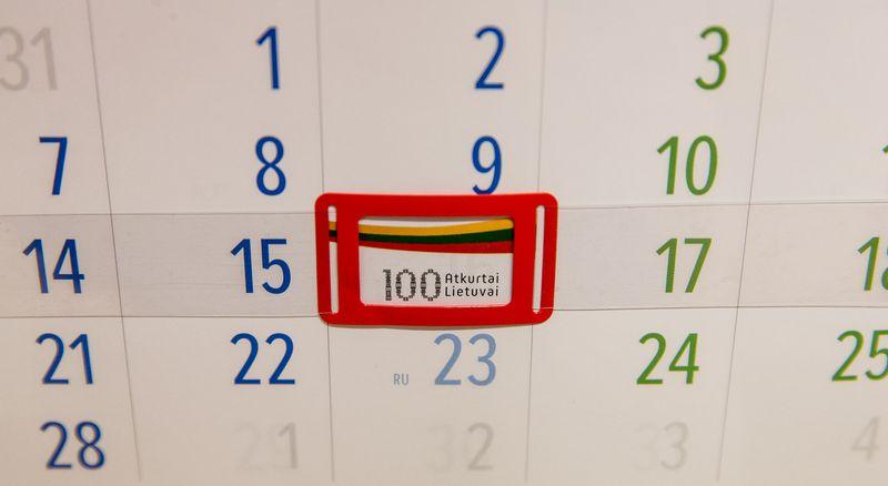 Atkurtos Lietuvos šimtmetis gausiais renginiais minimas ne tik šią savaitę, Vasario 16-ąją, bet ir visus šiuos metus. Juditos Grigelytės (VŽ) nuotr.