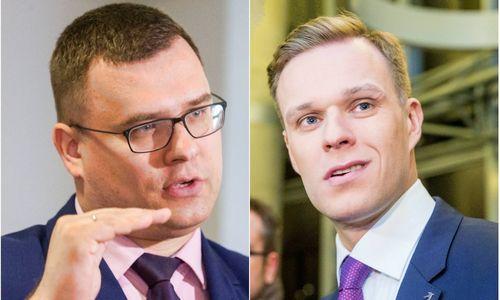 """G. Landsbergis išbarė partietį už kvietimą """"Alternatyvos Vokietijai"""" politikams"""