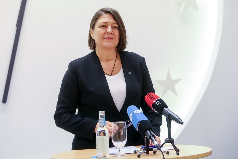 Violeta Bulc, už transportą atsakinga Europos Komisijos narė. Vladimiro Ivanovo (VŽ) nuotr.