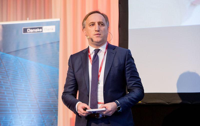 Kęstutis Bagdonavičius, ERGO draudimo grupės Baltijos šalyse valdybos pirmininkas. Juditos Grigelytės (VŽ) nuotr.