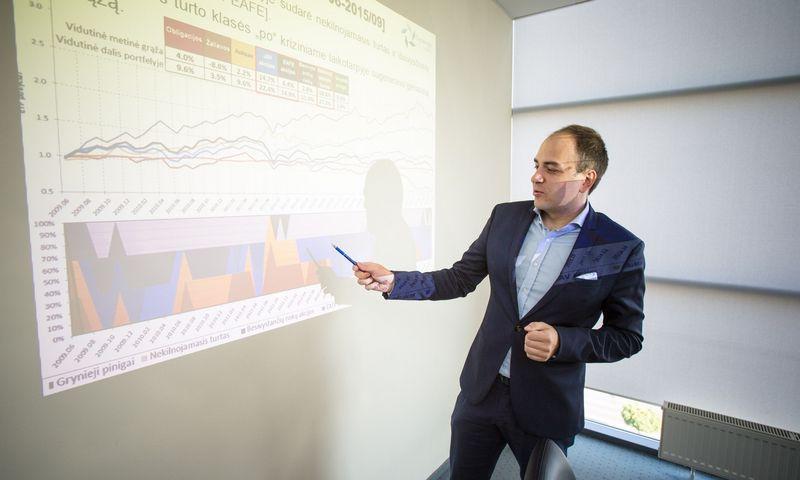 """Dr. Lukas Macijauskas. UAB """"Synergy Finance"""" fondų valdytojas.  Vladimiro Ivanovo (VŽ) nuotr."""