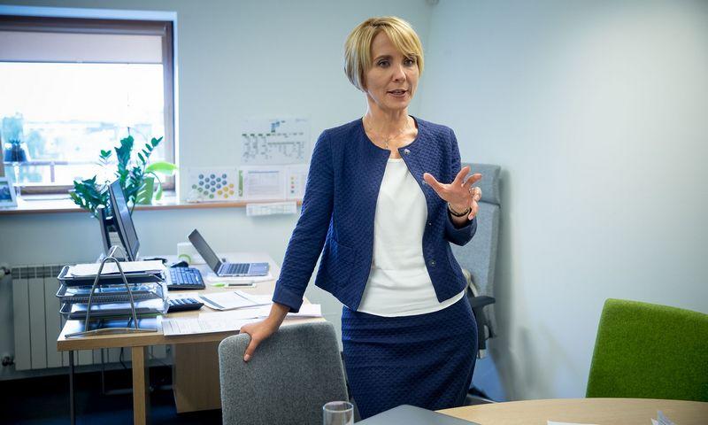 """Dalia Andrulionienė, AB Energijos skirstymo operatoriaus (ESO) generalinė direktorė: """"Atsisveikindami visuomet kalbamės ir apie žmogaus stipriąsias savybes."""" Vladimiro Ivanovo ("""