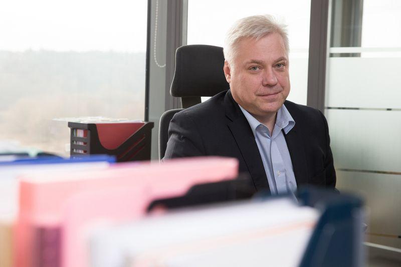 """Algimantas Variakojis, investuotojas: """"Vienas pavojingesnių žmonių įmonėje – gamybos vadovas."""" Juditos Grigelytės (VŽ) nuotr."""