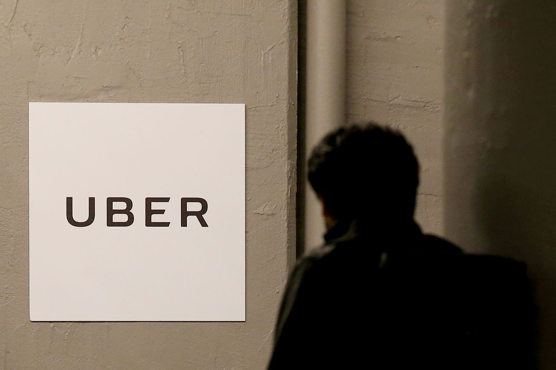 """""""Uber"""" ketvirtinis nuostolis susitraukė iki 1,1 mlrd. USD"""