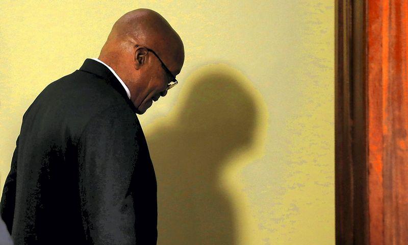 Jacobas Zuma, atsistatydinęs Pietų Afrikos Respublikos prezidentas. Siphiwe Sibeko (Reuters / Scanpix) nuotr.