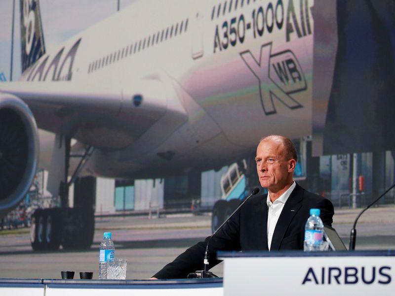 """Airbus"" vykdomasis vadovas Tomas Endersas. Regiso Duvignau (""Reuters"" / ""Scanpix"") nuotr."