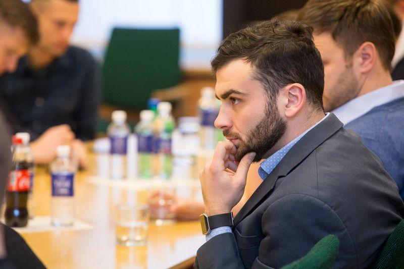 """Gytenis Galkis, verslo angelų tinklo """"LitBAN"""" iniciatorius ir investicijų į ankstyvos stadijos startuolius bendrovės """"Blue Lime Labs"""" vadovas. Vladimiro Ivanovo (VŽ) nuotr."""