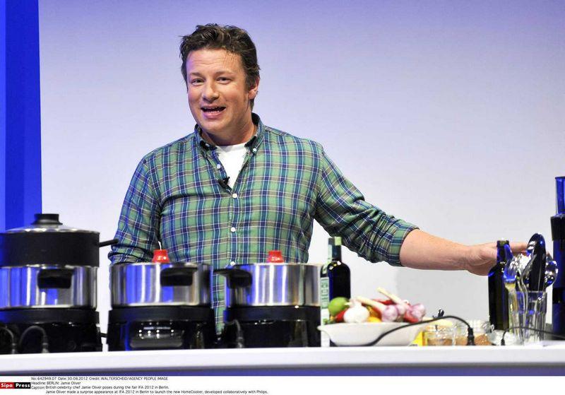"Jamie Oliveris. Walterscheid/Agency People Image (""Sipa"" / ""Scanpix"") nuotr."