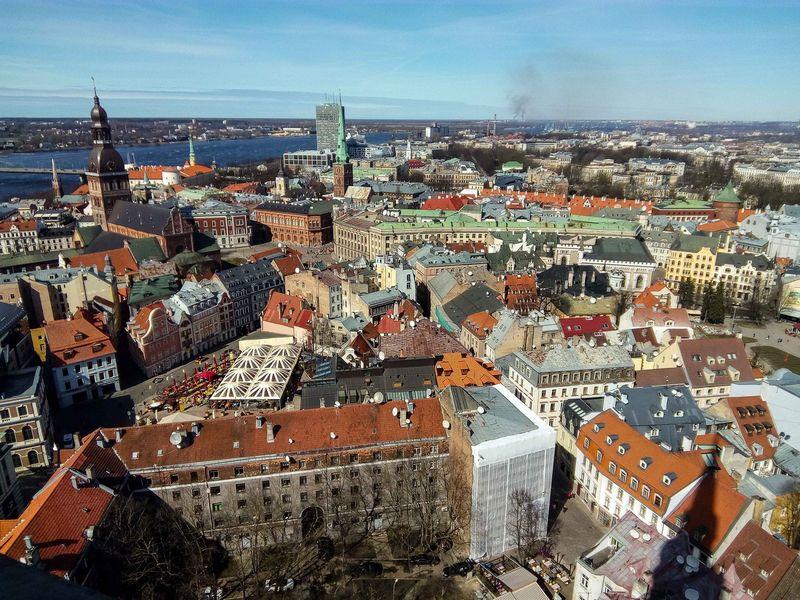 Pastarosiomis dienomis Latvija dažnai linksniuojama pasaulio finansų žiniasklaidoje.  Vladimiro Ivanovo (VŽ) nuotr.