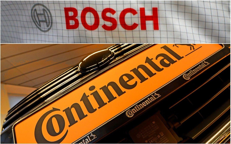 """ES baudžia """"Continental"""" ir """"Bosch"""" už kartelinius susitarimus"""