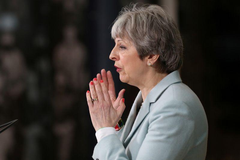 """Londonas Briuselio prašo suteikti ilgesnį pereinamąjį laikotarpį. Christopherio Furlongo (""""Reuters""""/""""Scanpix"""") nuotr."""