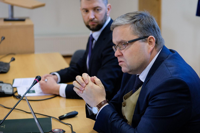 Vasiliauskas palaikytų ECB retorikos pokytį