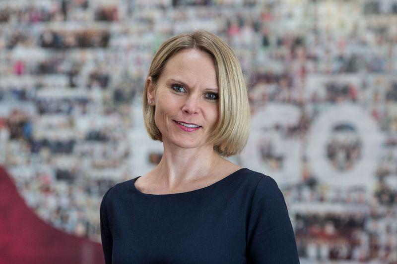 Lina Jakučionienė, asociacijos Tarybos pirmininkė, ERGO Korporatyvinės komunikacijos direktorė Baltijos šalyse. Vladimiro Ivanovo (VŽ) nuotr.