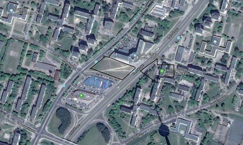 """Šiame sklype pastatyta A+ energinės klasės parduotuvė """"Maximai"""". """"Google Maps"""" nuotr."""