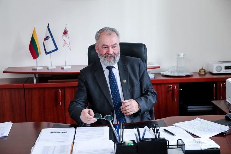 Juozas Mažeika, Kretingos rajono savivaldybės meras. Vladimiro Ivanovo (VŽ) nuotr.