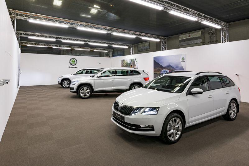 """Europoje didelį populiarumą pelno SUV tipo automobiliai. """"Newspress"""" nuotr."""