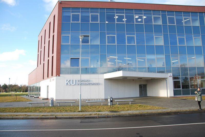 Klaipėdos universiteto verslo inkubatorius. Mildos Ancevičės (VŽ) nuotr.
