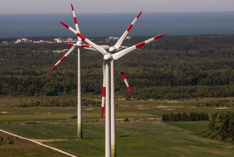 """Vydmantai wind park"" vėjo parkas. Bendrovės nuotr."