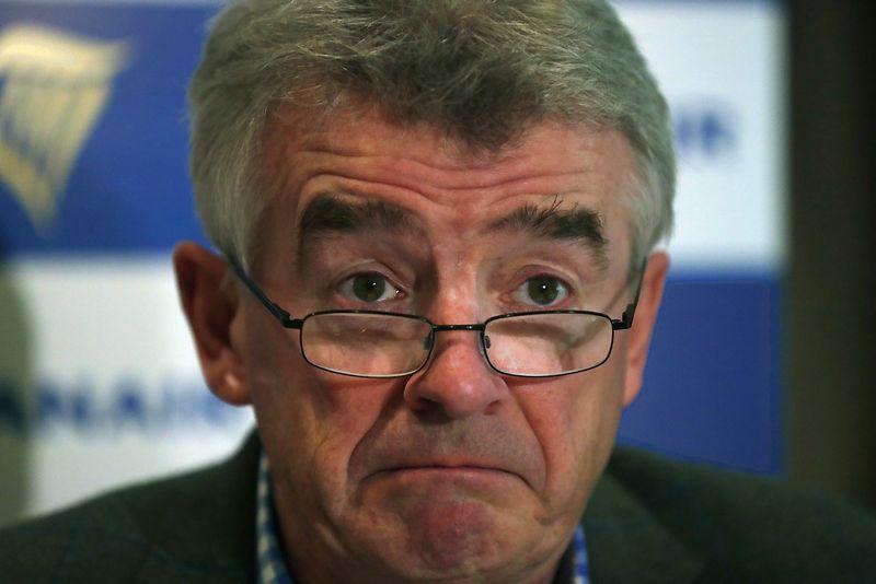"""Ryanair"" CEO Michaelas O'Leary. Rafaelio Marchante (Reuters / Scanpix) nuotr."