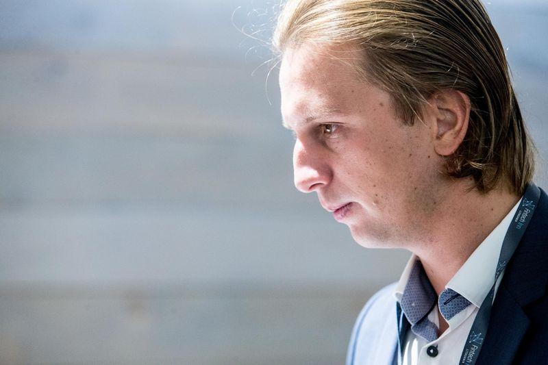 """Finansinių paslaugų startuolio """"Revolut"""" vadovas Nikolajus Storonskis. Juditos Grigelytės (VŽ) nuotr."""
