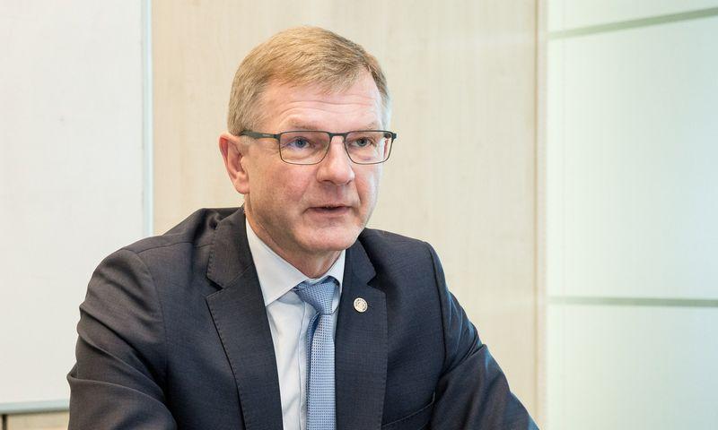 """Gintaras Adomonis, """"Ūkio banko bankroto administratorius. Juditos Grigelytės (VŽ) nuotr."""