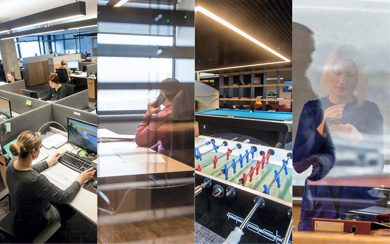 """Naujas """"Icor"""" grupės biuras: pirštų skaitytuvai, skaitmeninės sistemos ir kosmosas"""