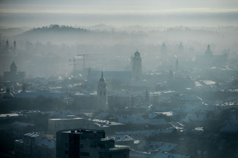 Vilniaus senamiesčio panorama. Juditos Grigelytės (VŽ) nuotr.