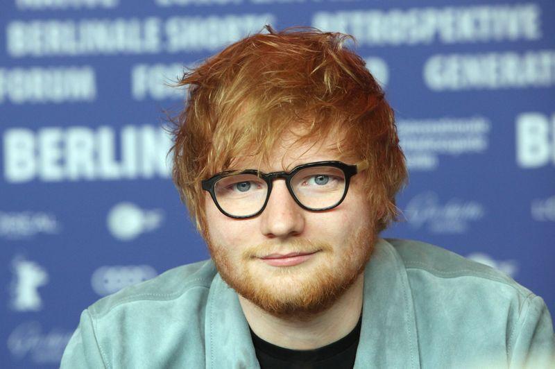 Dainininkas Edas Sheeranas. Patciko Aventurier (Sipa / Scanpix) nuotr.