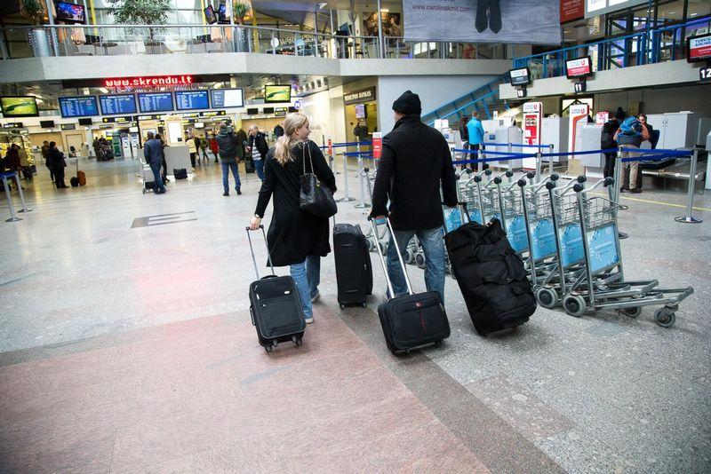 Tarptautinis Vilniaus oro uostas. Vladimiro Ivanovo (VŽ) nuotr.