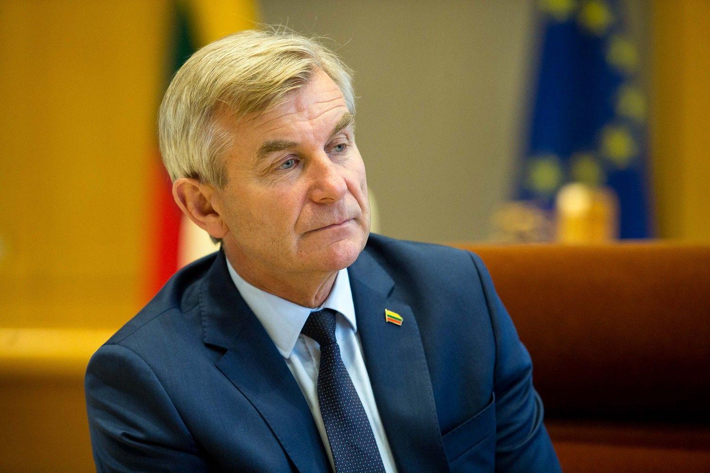 Viktoras Pranckietis Lenkijos Seimui: esame vienoje valtyje