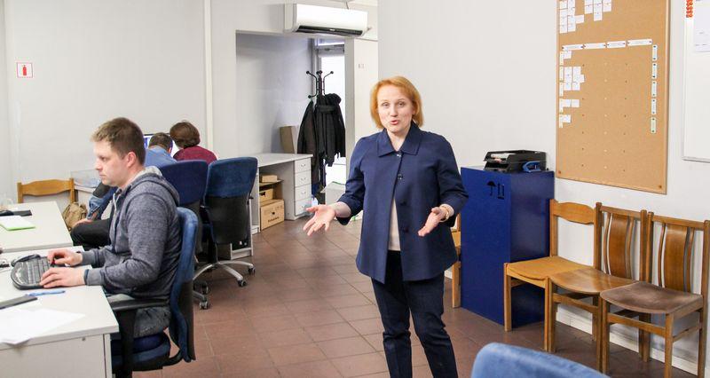 """Įmonės pardavimų variklis šiemet buvo Lietuvos rinka, teigia Rasa Beskajevienė, UAB """"Equinox Europe"""" generalinė direktorė. Mildos Tarcijonaitės (VŽ) nuotr."""