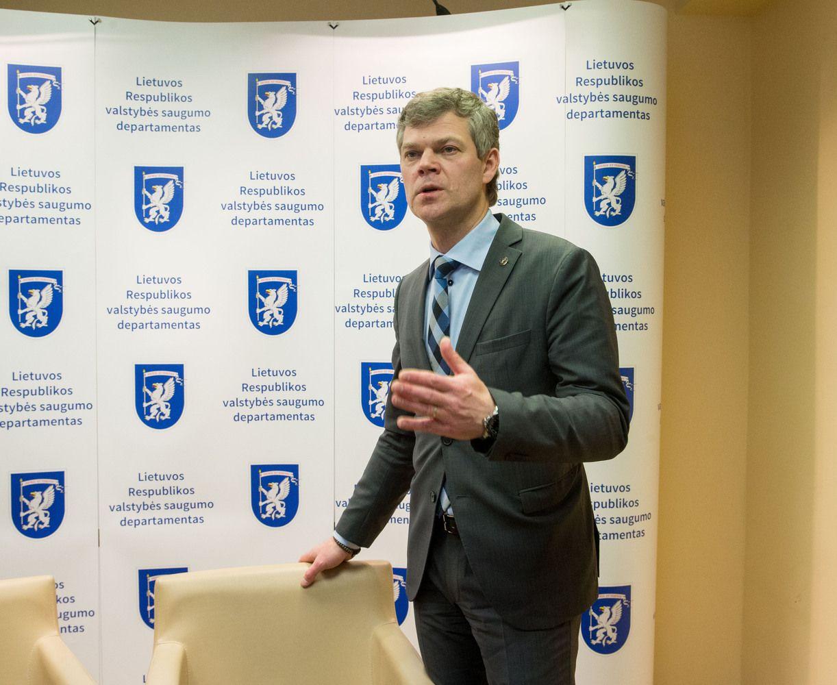 Interviu su VSD vadovu: apie verslo kontrolę, politikų patikimumą, Rusiją
