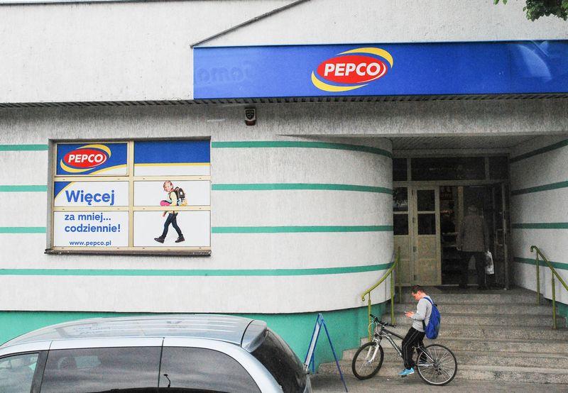 """""""Pepco"""" parduotuvė Lenkijoje. Juditos Grigelytės (VŽ) nuotr."""