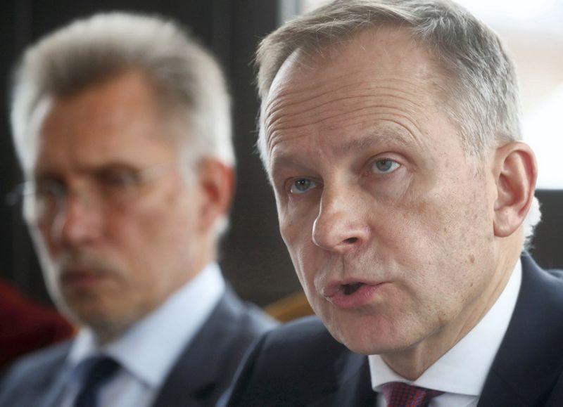 Ilmaras Rimševičius, Latvijos centrinio banko vadovas. Into Kalninio (Reuters / Scanpix) nuotr.