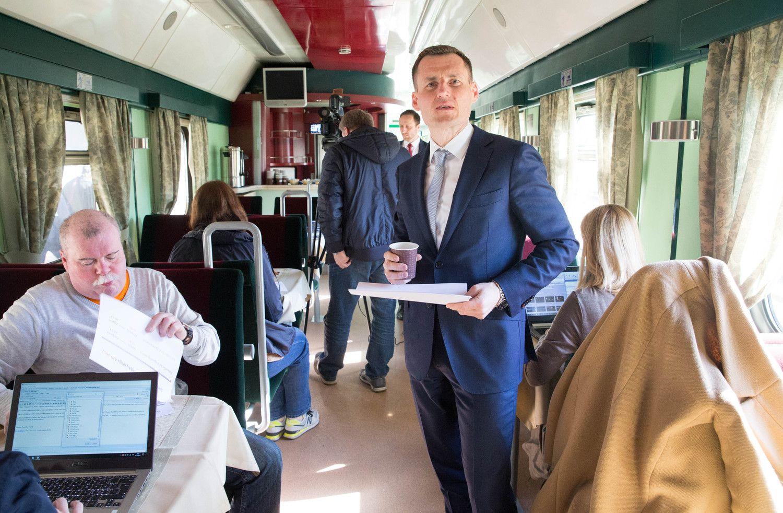 Vykstančius į komandiruotę ar darbą vilioja į traukinius