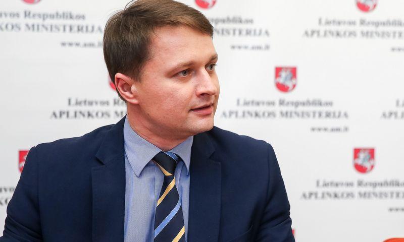 Aplinkos viceministras Dalius Krinickas. Vladimiro Ivanovo (VŽ) nuotr.