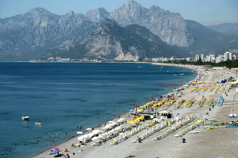 Turistai iš Vokietijos vėl atsigręžia į Turkiją