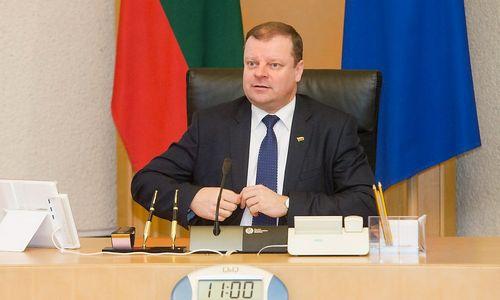 Premjeras neskuba iš pareigų atleisti teisingumo ministrės