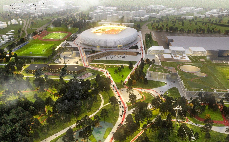 Teismas sustabdė nacionalinio stadiono konkursą