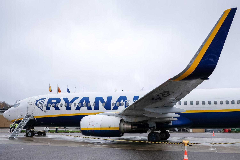 """""""Ryanair"""" maršrutai iš Lietuvos: šeši atsiranda, du nyksta"""