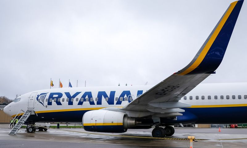 """2018 m. """"Ryanair"""" iš Lietuvos pradės šešis naujus maršrutus, du nutraukė. Vladimiro Ivanovo (VŽ) nuotr."""