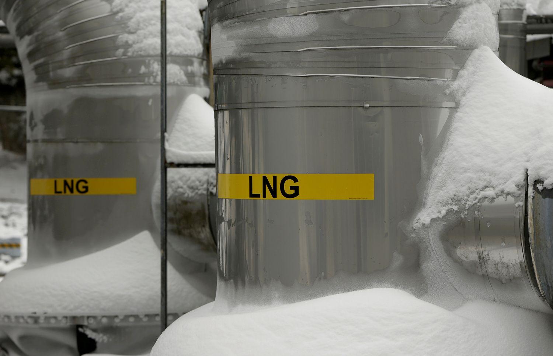 Šaltos savaitėsišbandė Europos dujų rinką