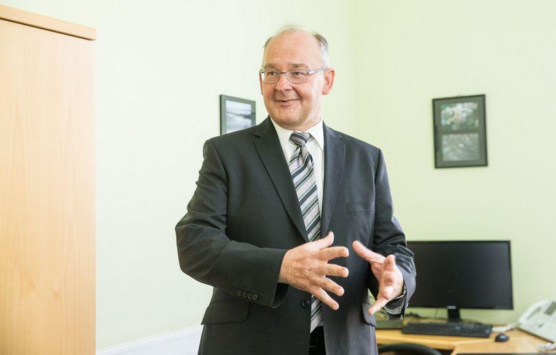 Artūras Klerauskas, VMI viršininko pavaduotojas. Juditos Grigelytės (VŽ) nuotr.
