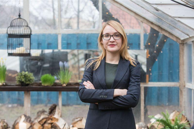 """Edita Semėnienė, """"Enefit"""" plėtros vadovė. Juditos Grigelytės (VŽ) nuotr."""