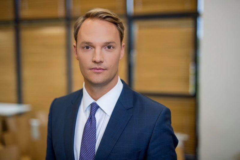 SEB banko Lėšų valdymo ir prekybos finansavimo departamento direktorius Justas Jonikas.