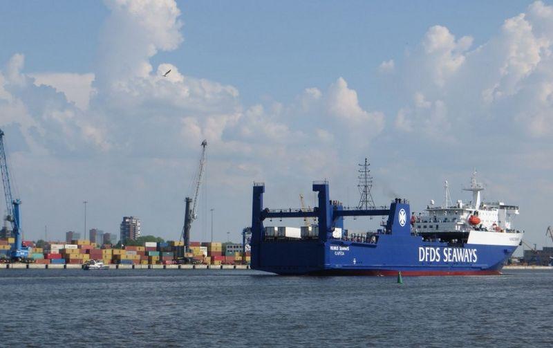 Klaipėdos uoste bus mažinamos rinkliavos rečiau plaukiojantiems keltams. Susisiekimo ministerijos nuotr.
