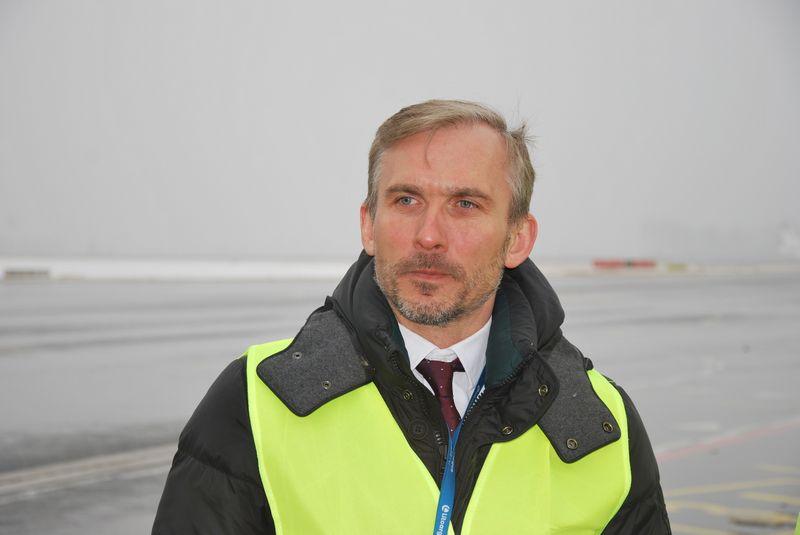 """""""Investicija leis mums tapti konkurencingesniais"""", - sako Saulius Batavičius, UAB """"Litcargus"""" generalinis direktorius.Vytauto Gaižausko (VŽ) nuotr."""