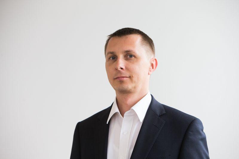 Arvydas Jacikevičius, investavimo specialistas. Juditos Grigelytės (VŽ) nuotr.