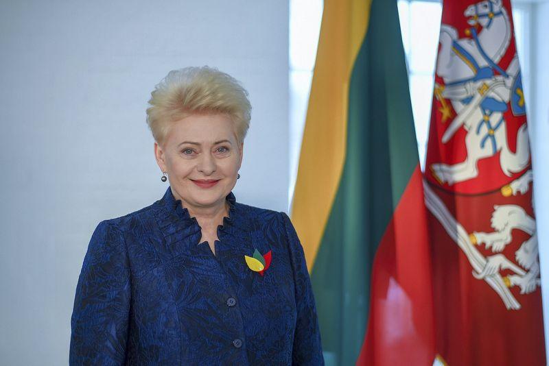 Dalia Grybauskaitė. Prezidentės spaudos tarnybos nuotr.